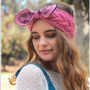 Beautiful Rose Crocheted Headband